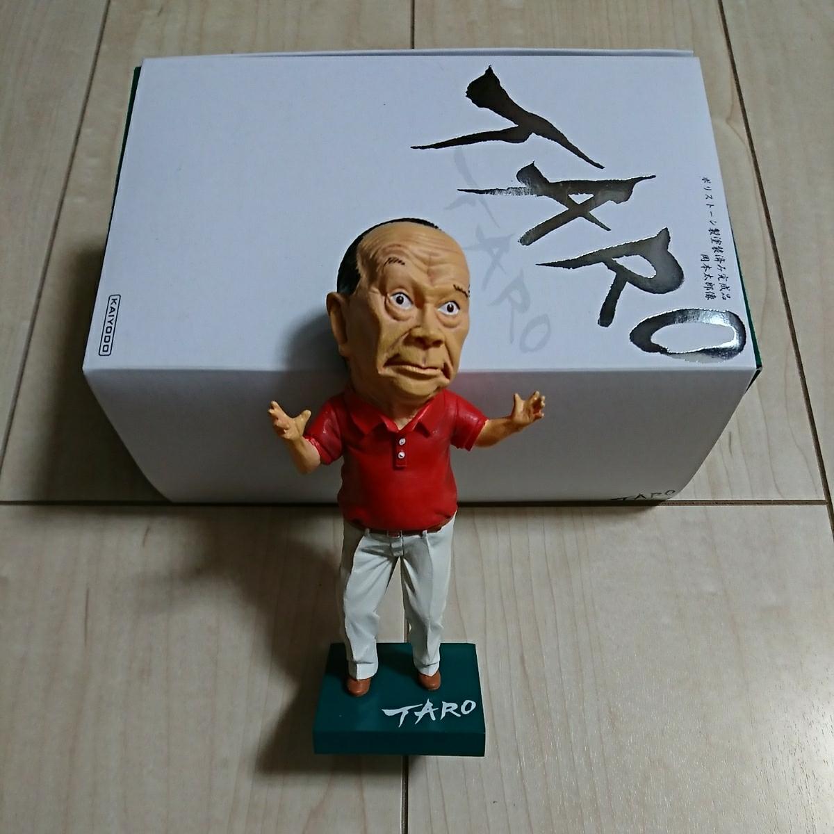 『芸術は爆発だ!・岡本太郎figure』保護函付。ポリストーン製塗装済完成品。(株)海洋堂。