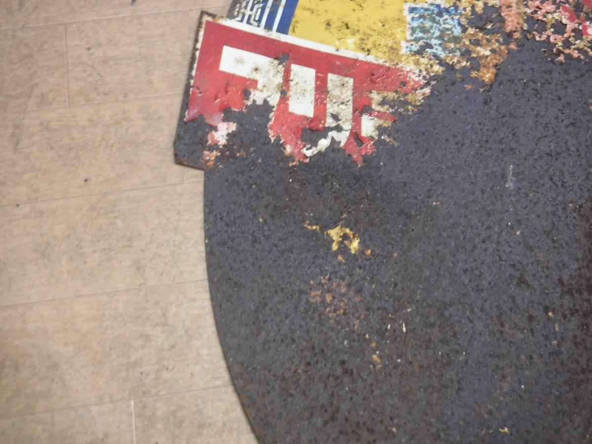 両面看板 ブリヂストン自転車タイヤ 昭和レトロ 1950年代 実用自転車 運搬車 丸石 ミヤタ ヒドリ ウェルビー ツバメ ツノダ_画像9