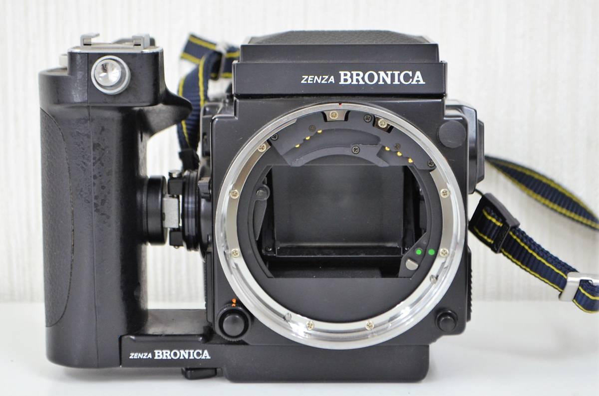1★ゼンザ ブロニカ ZENZA BRONICA ETR Si フィルムカメラ ZENZANON-PE 1:2.8 f=50mm ジャンク品 1円スタート_画像8