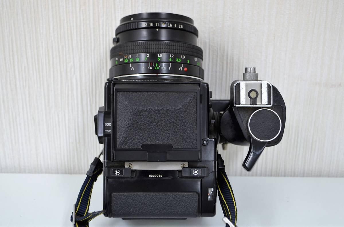 1★ゼンザ ブロニカ ZENZA BRONICA ETR Si フィルムカメラ ZENZANON-PE 1:2.8 f=50mm ジャンク品 1円スタート_画像4