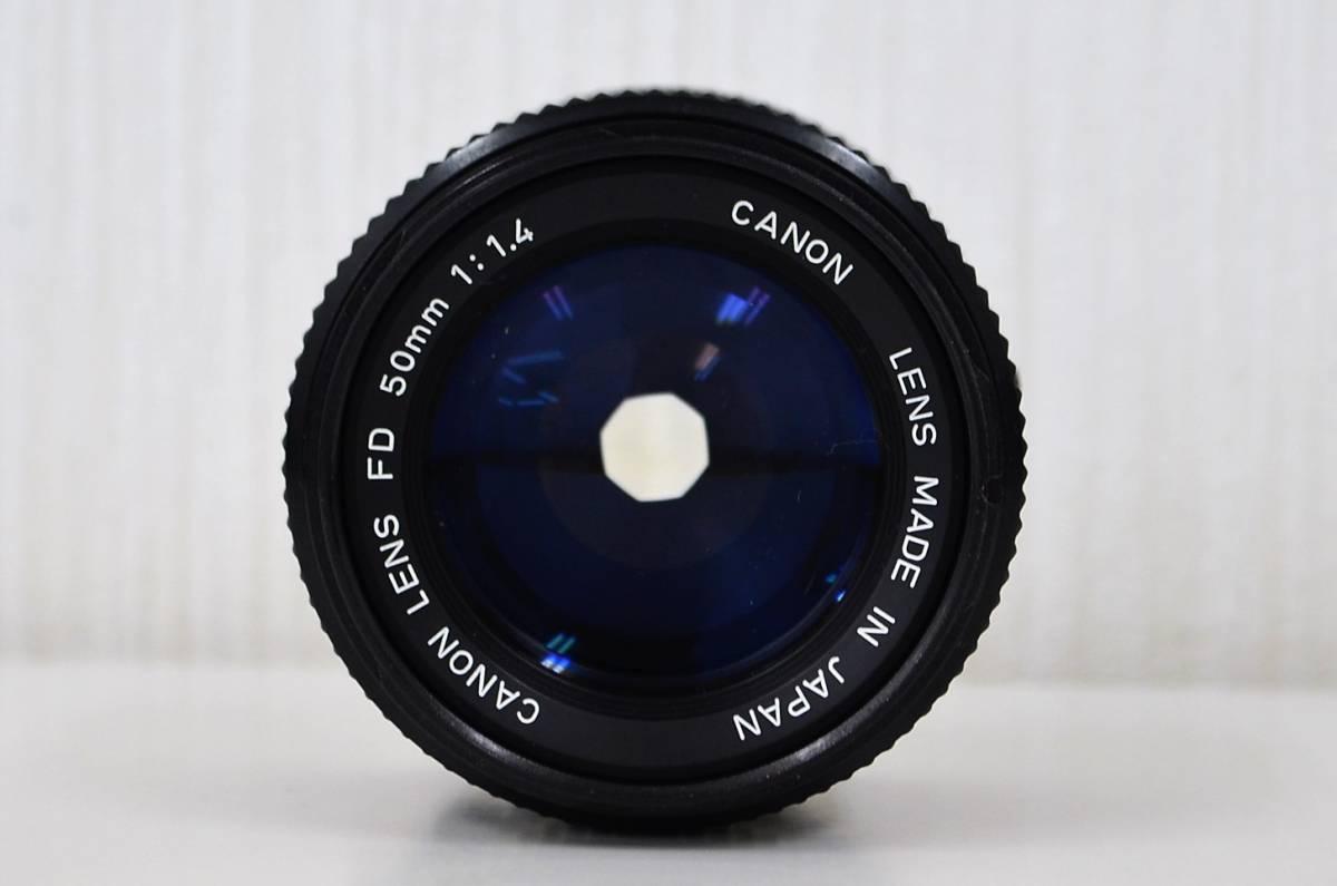1★キャノン Canon A-1 フィルムカメラ マニュアルフォーカス CANON LENS FD 50mm 1:1.4 ジャンク品 1円スタート_画像6