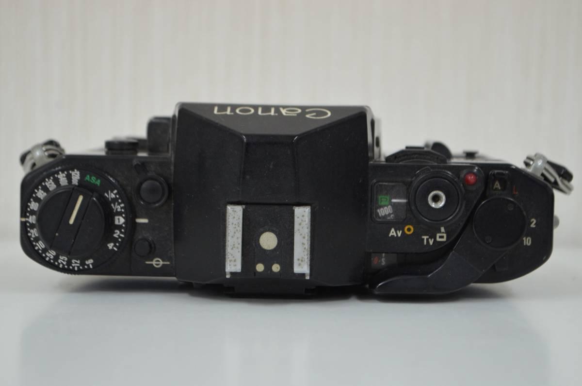 1★キャノン Canon A-1 フィルムカメラ マニュアルフォーカス CANON LENS FD 50mm 1:1.4 ジャンク品 1円スタート_画像4