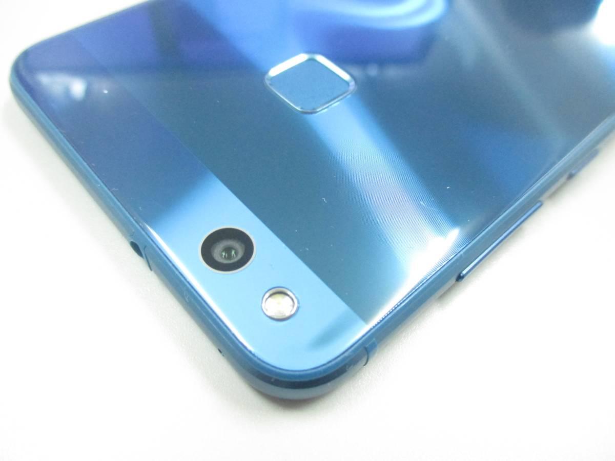 ◆◇1スタ UQmobile 国内版SIMフリー HUAWEI P10 lite 3GB/32GB ブルー 新品同様品◇◆_画像9