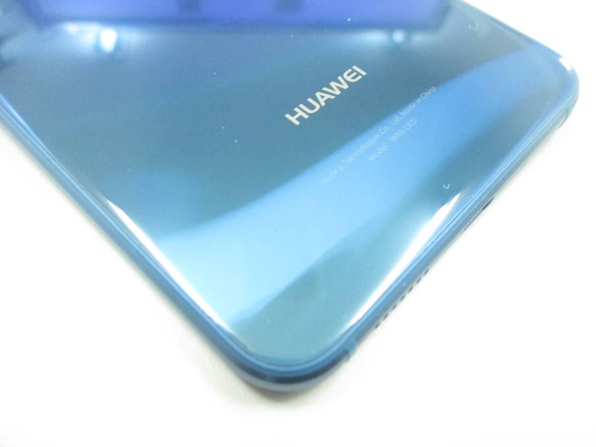 ◆◇1スタ UQmobile 国内版SIMフリー HUAWEI P10 lite 3GB/32GB ブルー 新品同様品◇◆_画像8