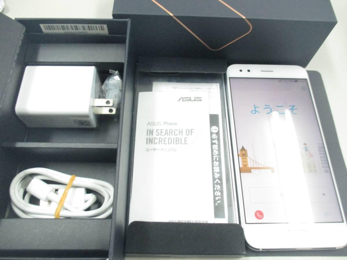◆◇1スタ 国内版SIMフリー ASUS ZenFone 4 ZE554KL-WH64S6 ホワイト 中古美品◇◆