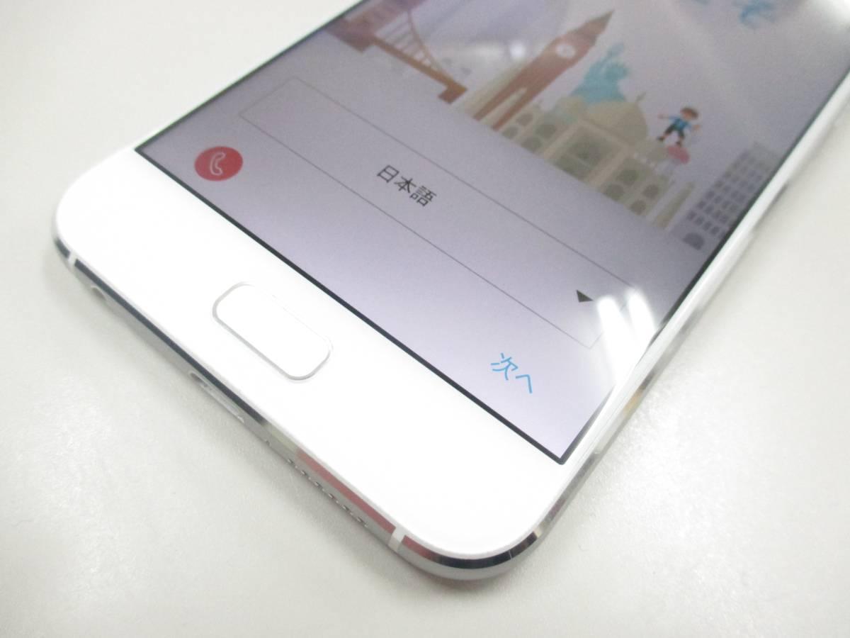 ◆◇1スタ 国内版SIMフリー ASUS ZenFone 4 ZE554KL-WH64S6 ホワイト 中古美品◇◆_画像2