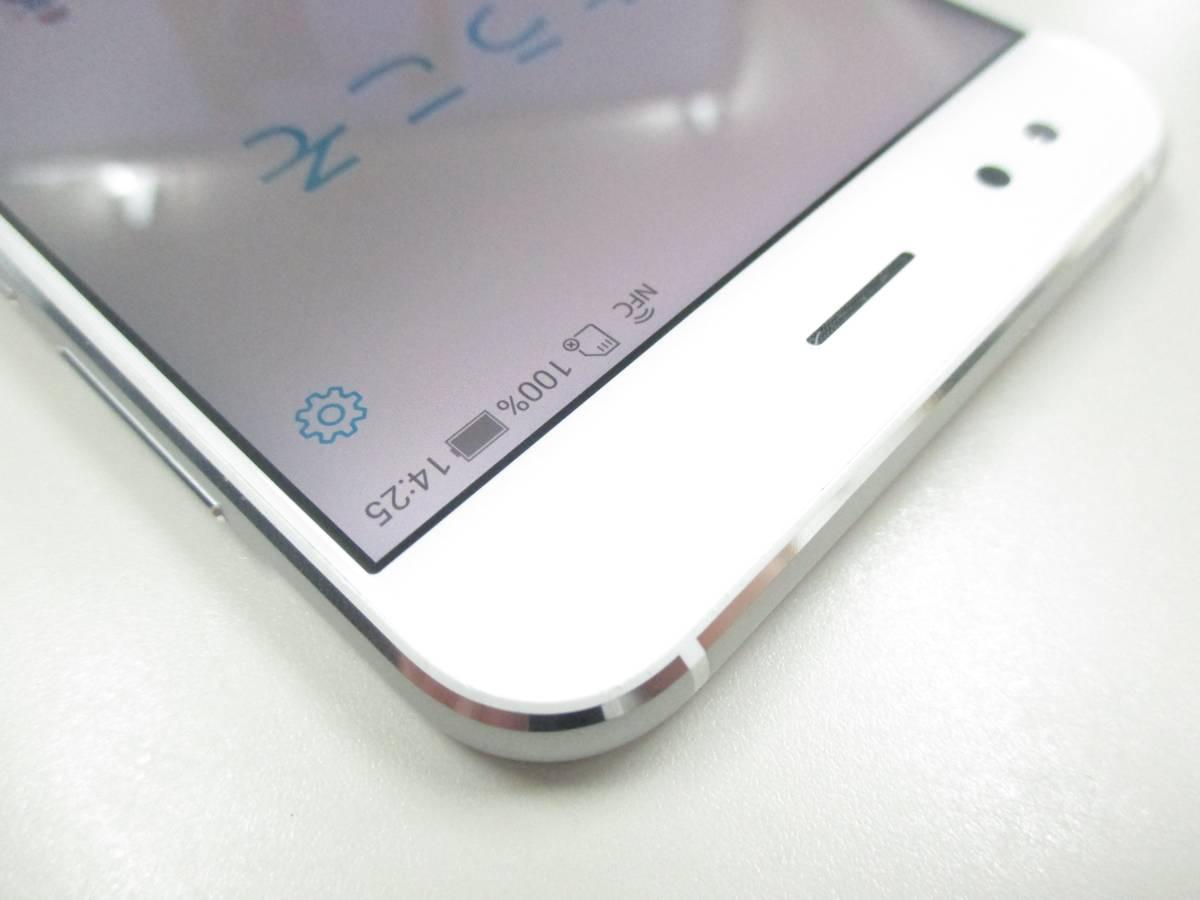 ◆◇1スタ 国内版SIMフリー ASUS ZenFone 4 ZE554KL-WH64S6 ホワイト 中古美品◇◆_画像5