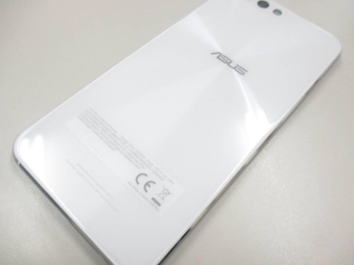 ◆◇1スタ 国内版SIMフリー ASUS ZenFone 4 ZE554KL-WH64S6 ホワイト 中古美品◇◆_画像6