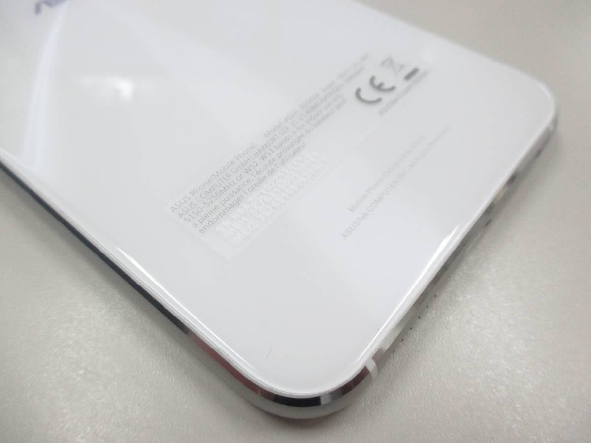 ◆◇1スタ 国内版SIMフリー ASUS ZenFone 4 ZE554KL-WH64S6 ホワイト 中古美品◇◆_画像8