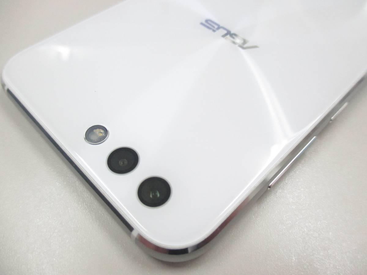 ◆◇1スタ 国内版SIMフリー ASUS ZenFone 4 ZE554KL-WH64S6 ホワイト 中古美品◇◆_画像9