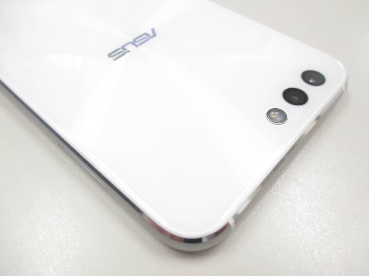 ◆◇1スタ 国内版SIMフリー ASUS ZenFone 4 ZE554KL-WH64S6 ホワイト 中古美品◇◆_画像10