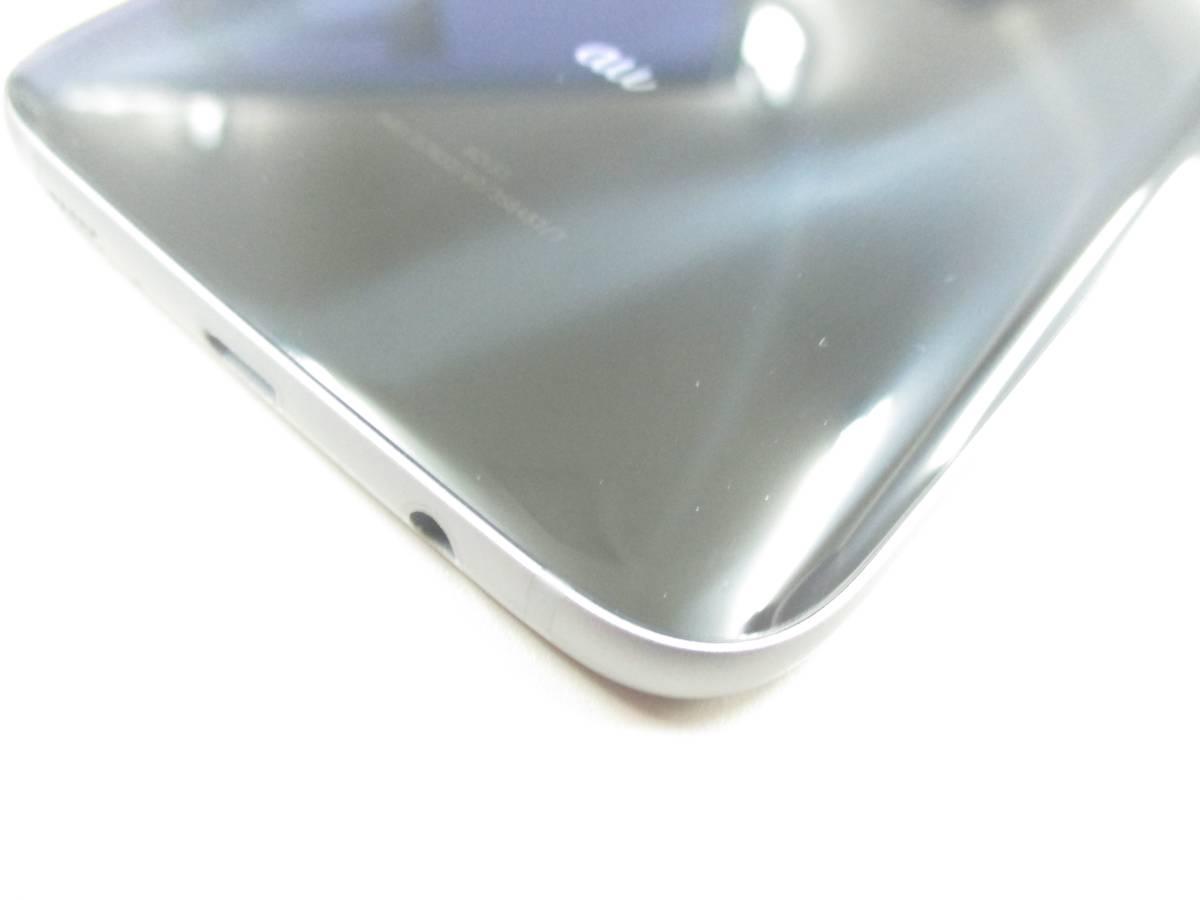 ◆◇1スタ au SIMロック解除済 〇判定 SAMSUNG Galaxy S7 edge SCV33 ブラック 中古美品◇◆_画像7
