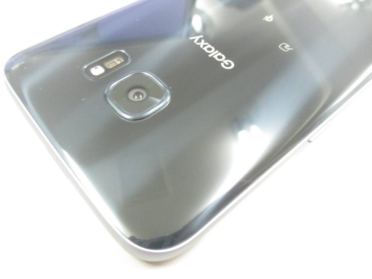 ◆◇1スタ au SIMロック解除済 〇判定 SAMSUNG Galaxy S7 edge SCV33 ブラック 中古美品◇◆_画像9