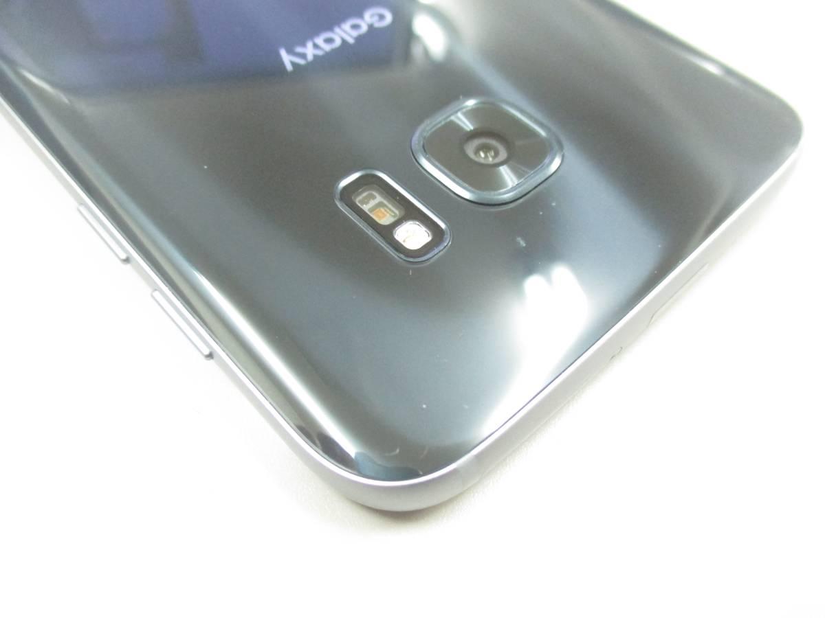 ◆◇1スタ au SIMロック解除済 〇判定 SAMSUNG Galaxy S7 edge SCV33 ブラック 中古美品◇◆_画像10
