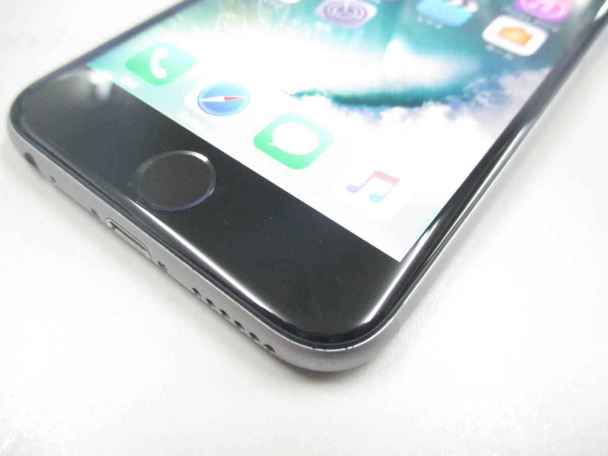 ◆◇1スタ docomo ○判定 iPhone6S 64GB MKQN2J/A スペースグレイ 中古品◇◆_画像2
