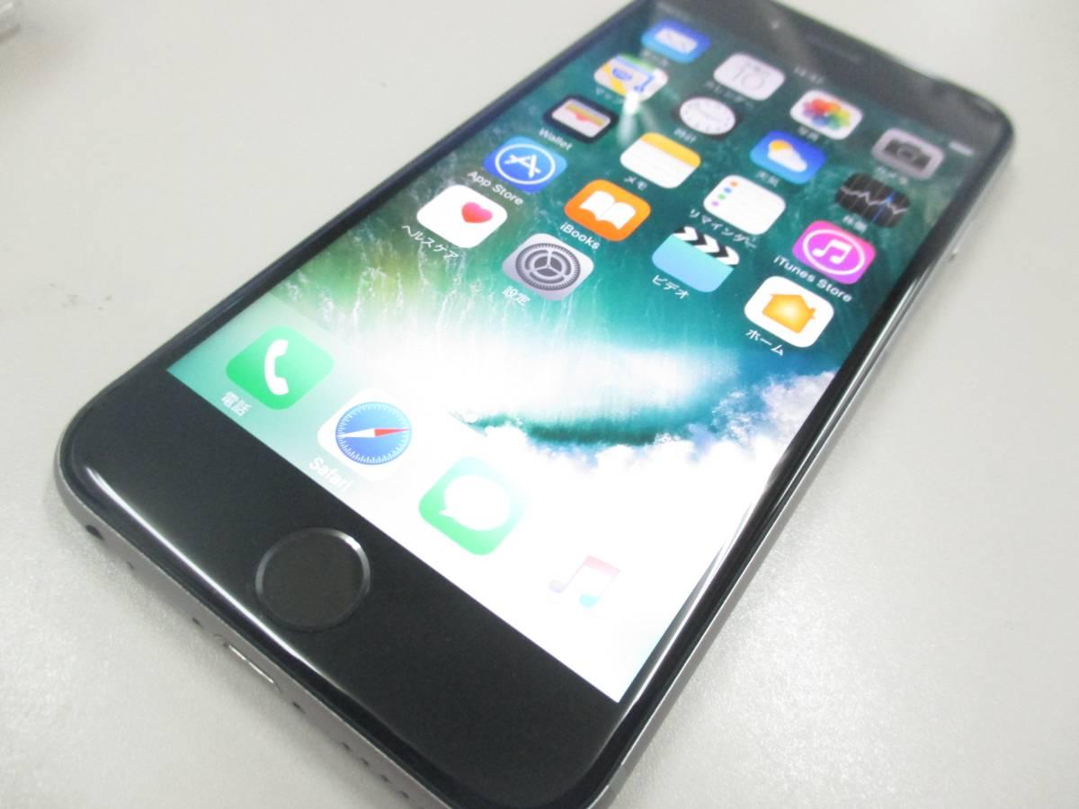 ◆◇1スタ docomo ○判定 iPhone6S 64GB MKQN2J/A スペースグレイ 中古品◇◆