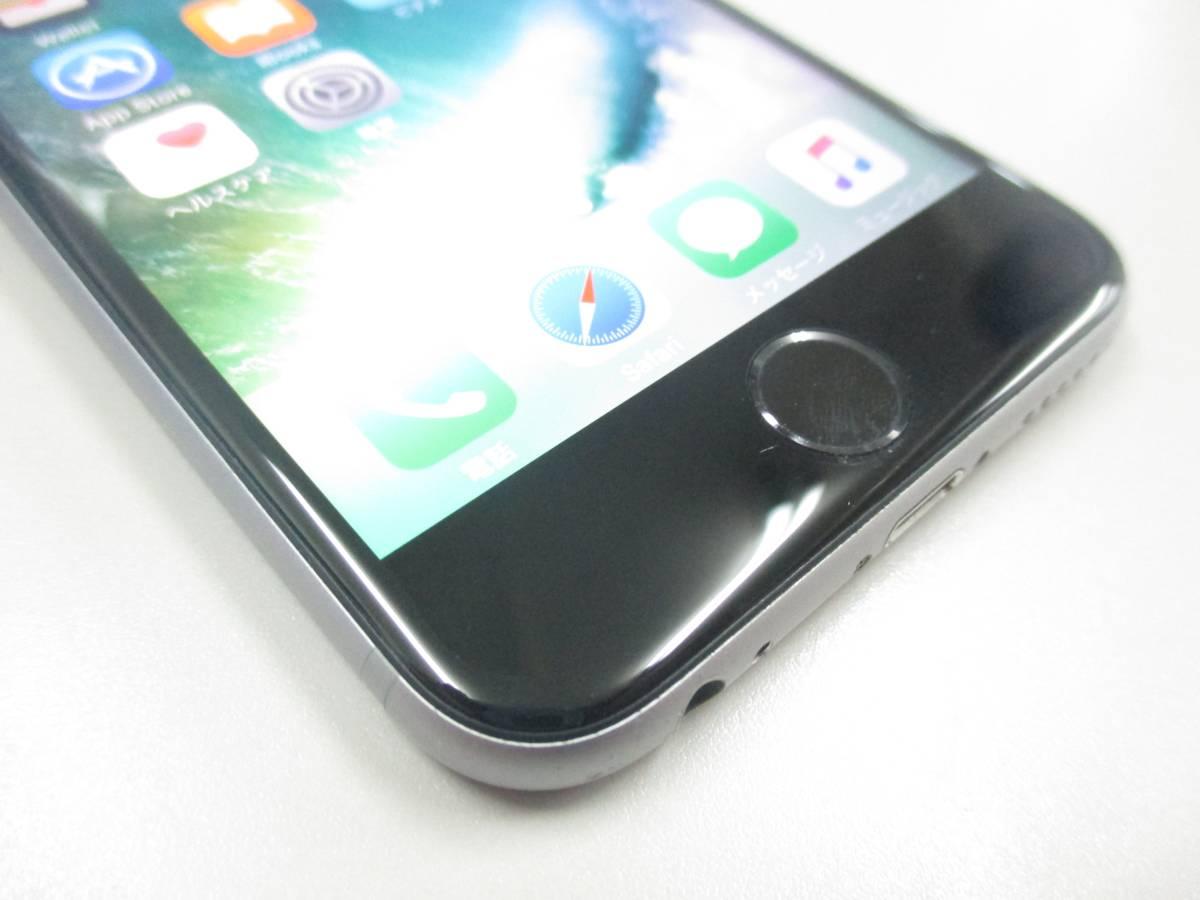 ◆◇1スタ docomo ○判定 iPhone6S 64GB MKQN2J/A スペースグレイ 中古品◇◆_画像3