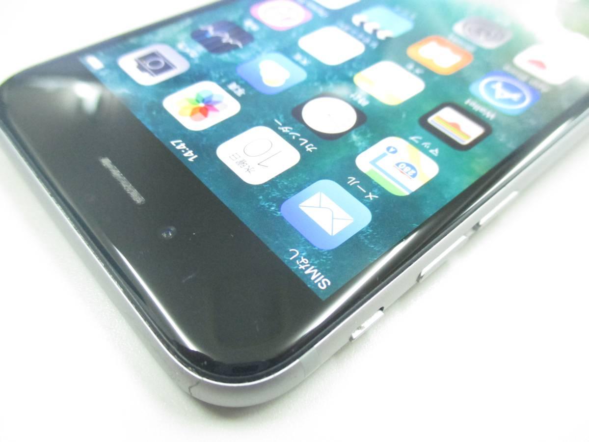 ◆◇1スタ docomo ○判定 iPhone6S 64GB MKQN2J/A スペースグレイ 中古品◇◆_画像4