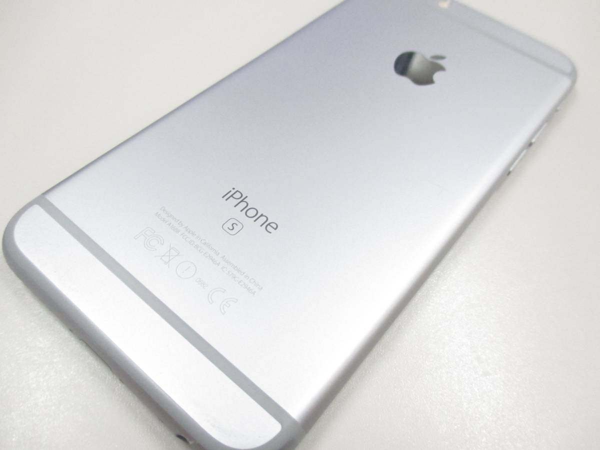 ◆◇1スタ docomo ○判定 iPhone6S 64GB MKQN2J/A スペースグレイ 中古品◇◆_画像6