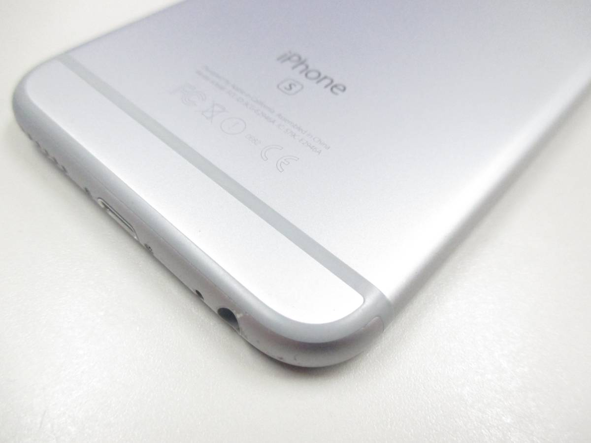 ◆◇1スタ docomo ○判定 iPhone6S 64GB MKQN2J/A スペースグレイ 中古品◇◆_画像7