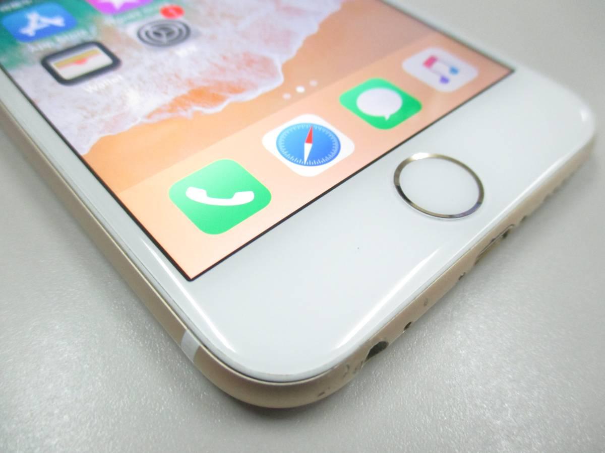 ◆◇1スタ docomo ○判定 iPhone6S 64GB MG4J2J/A ゴールド 中古品◇◆_画像3