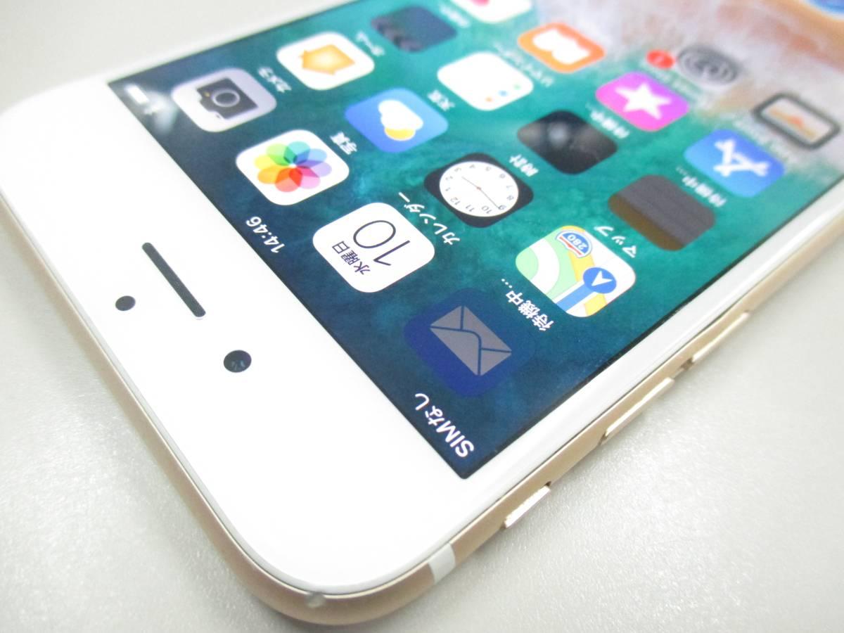 ◆◇1スタ docomo ○判定 iPhone6S 64GB MG4J2J/A ゴールド 中古品◇◆_画像4