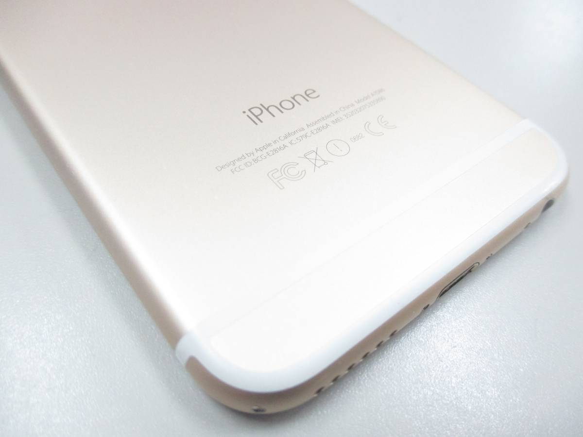 ◆◇1スタ docomo ○判定 iPhone6S 64GB MG4J2J/A ゴールド 中古品◇◆_画像8