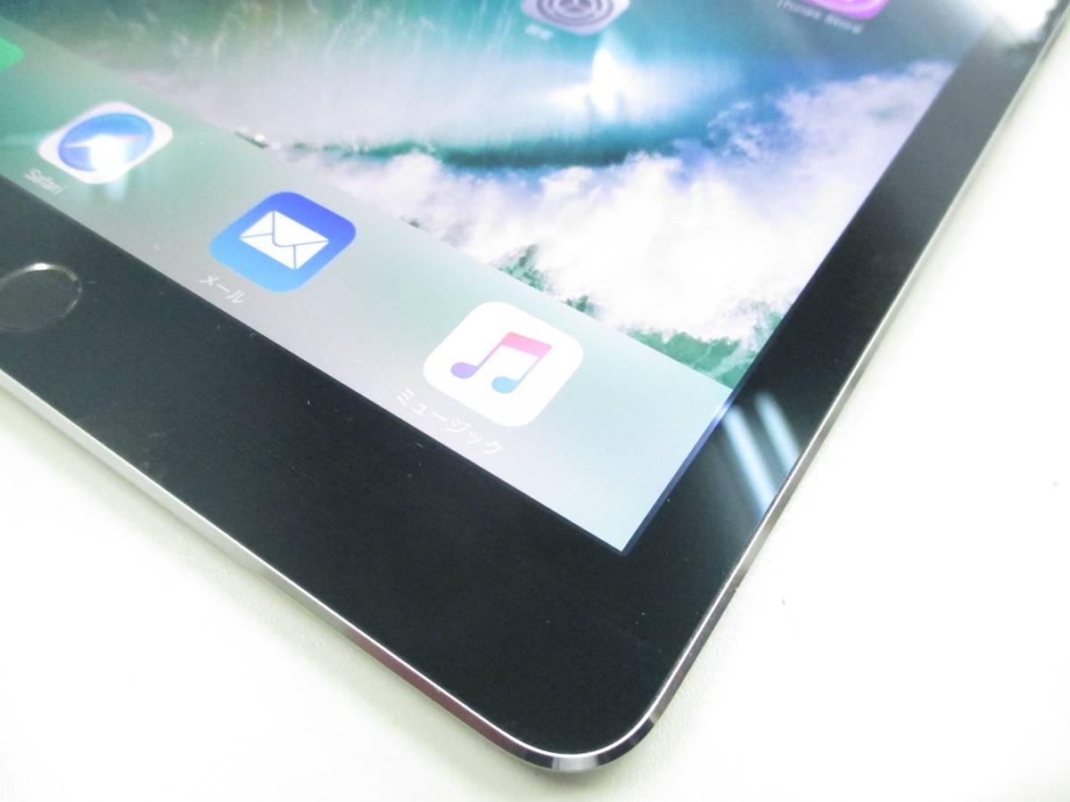 ◆◇1スタ au 判定◯ iPad Air2 WiFi+Cellular 64GB MGHX2J/A スペースグレイ 中古品◇◆_画像2