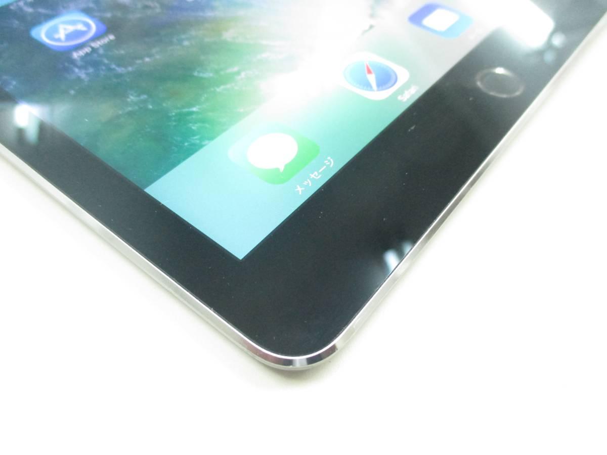 ◆◇1スタ au 判定◯ iPad Air2 WiFi+Cellular 64GB MGHX2J/A スペースグレイ 中古品◇◆_画像3
