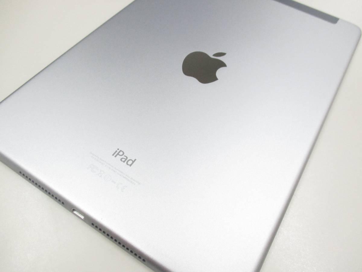 ◆◇1スタ au 判定◯ iPad Air2 WiFi+Cellular 64GB MGHX2J/A スペースグレイ 中古品◇◆_画像6