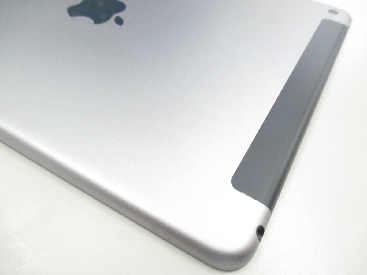 ◆◇1スタ au 判定◯ iPad Air2 WiFi+Cellular 64GB MGHX2J/A スペースグレイ 中古品◇◆_画像10