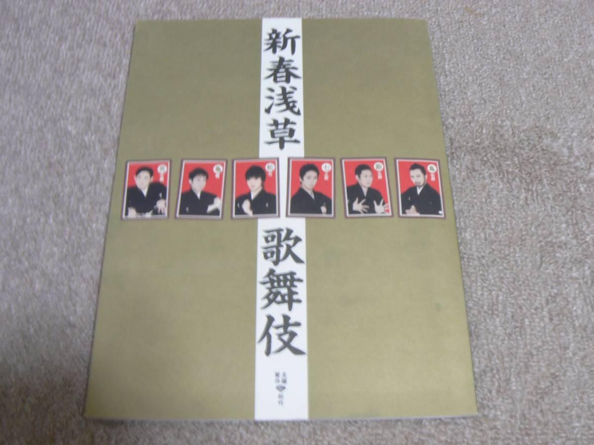 新春浅草歌舞伎 パンフレット プログラム 市川亀治郎 中村勘太郎 平成21