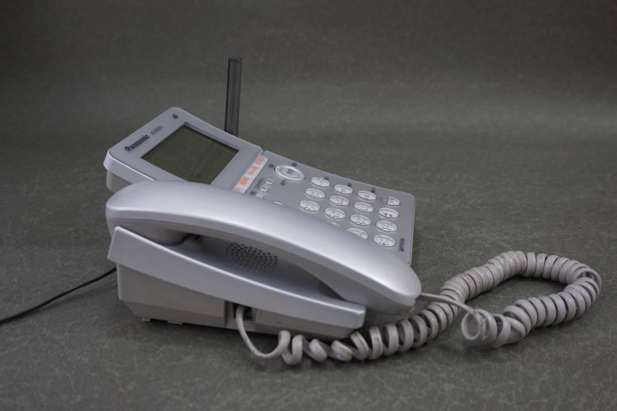 A1612 Panasonic VE-GP52S 留守番 電話機 通電確認済み_画像4