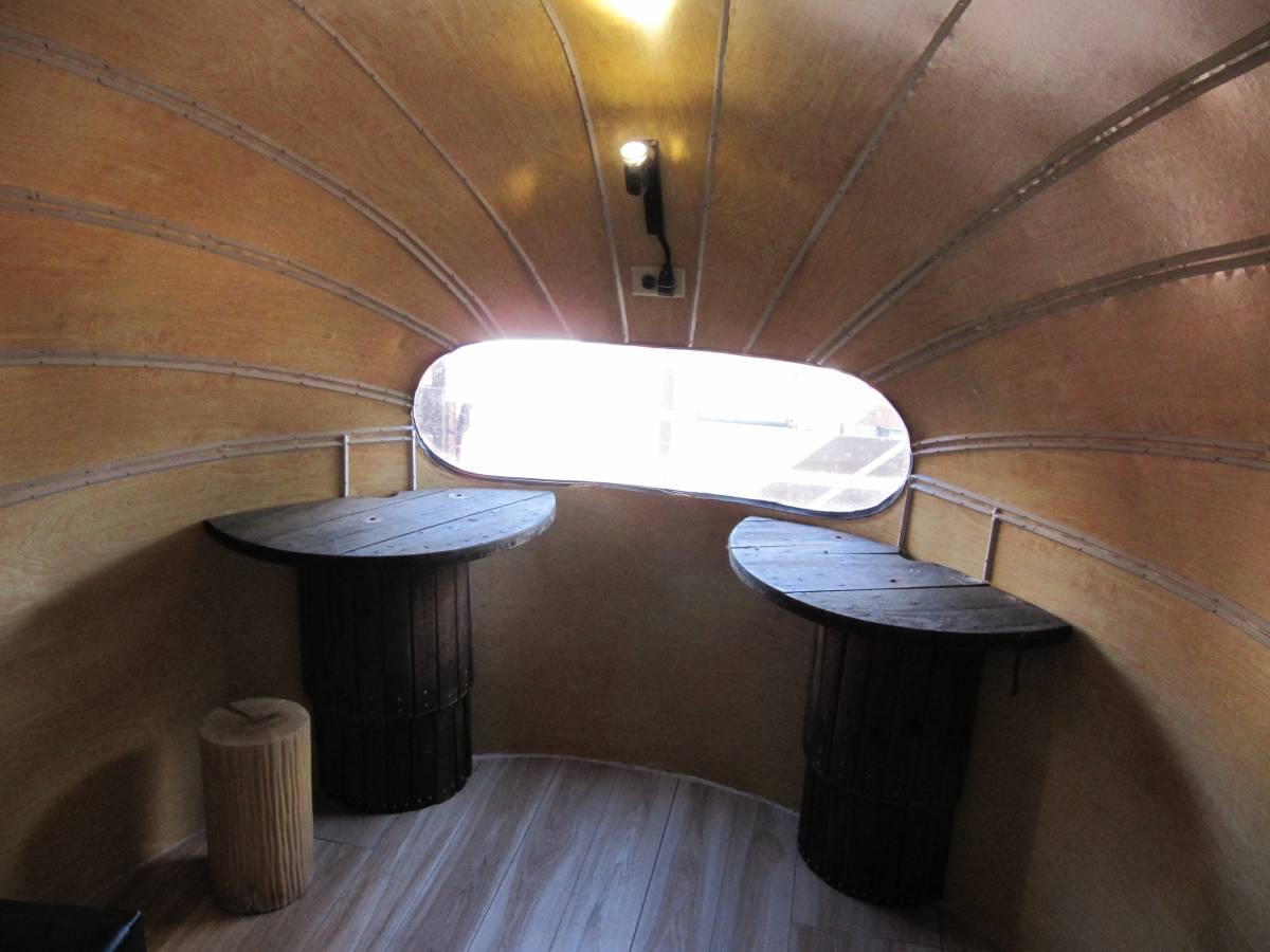 値下げ交渉有 1940年代 ヴィンテージ エアストリーム レストア済み 通関証明証有り トイレ設置可能_画像2