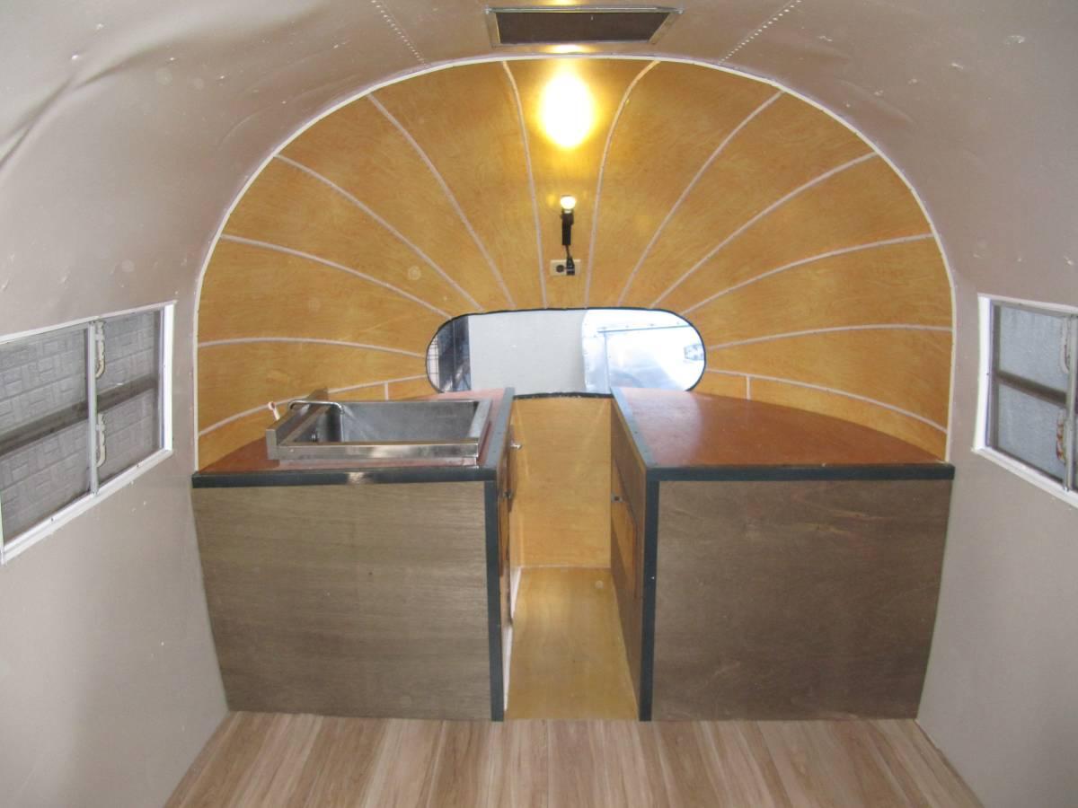 値下げ交渉有 1940年代 ヴィンテージ エアストリーム レストア済み 通関証明証有り トイレ設置可能_画像3