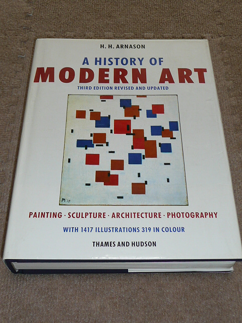 702洋書◆A History of Modern Art: Painting, Sculpture, Architecture, Photography◆1986年出版(第3版)◆絵画、彫刻、建築、写真