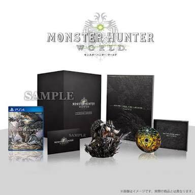 【 新品 未開封 】 モンスターハンター ワールド コレクターズエディション PS4 プロダクトコード付き モンハン