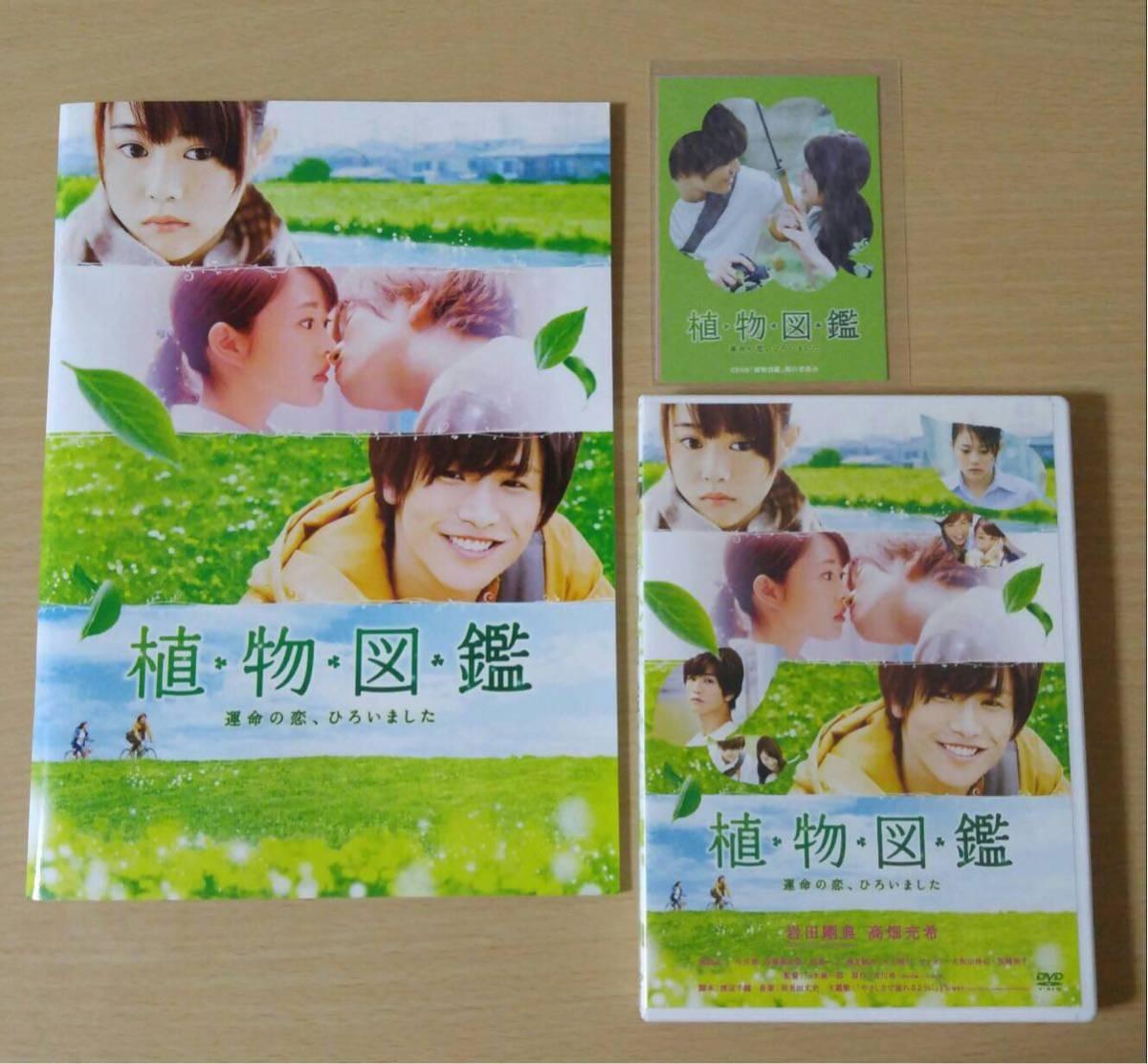 植物図鑑 岩田剛典 高畑充希 DVD 劇場パンフレット 非売品2016年ミニカレンダー
