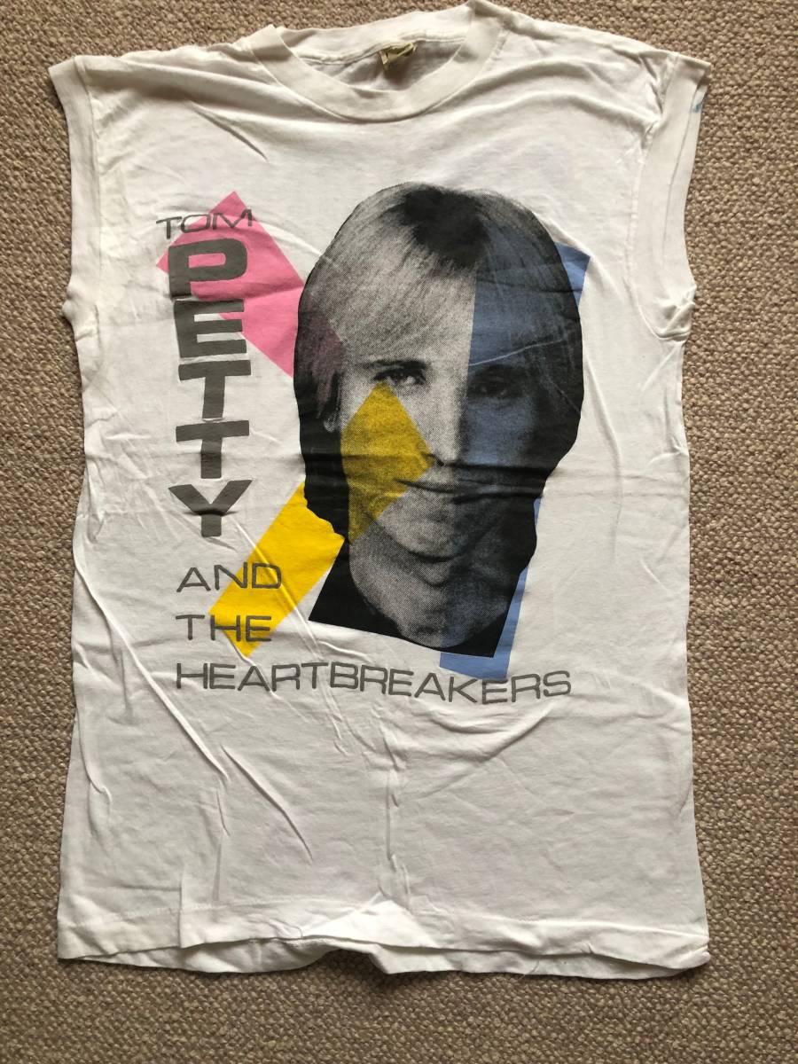 【ロックT】 トム・ペティ&ザ・ハートブレイカーズ「サザーん・アクセンツ」ツアー Tシャツ 1985
