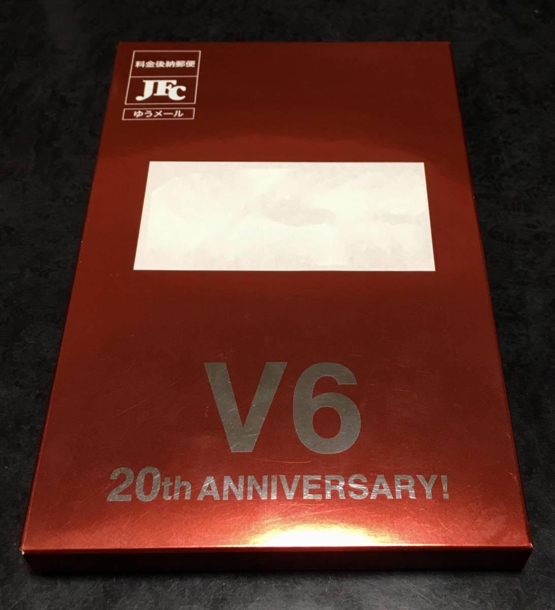 即決 新品未開封 V6 20周年 記念パスケース 非売品