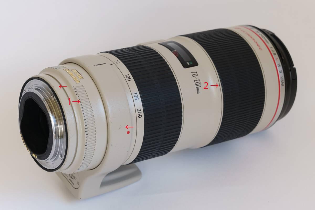 ★Canon キャノン EF 70-200mm f/2.8L IS Ⅱ USM