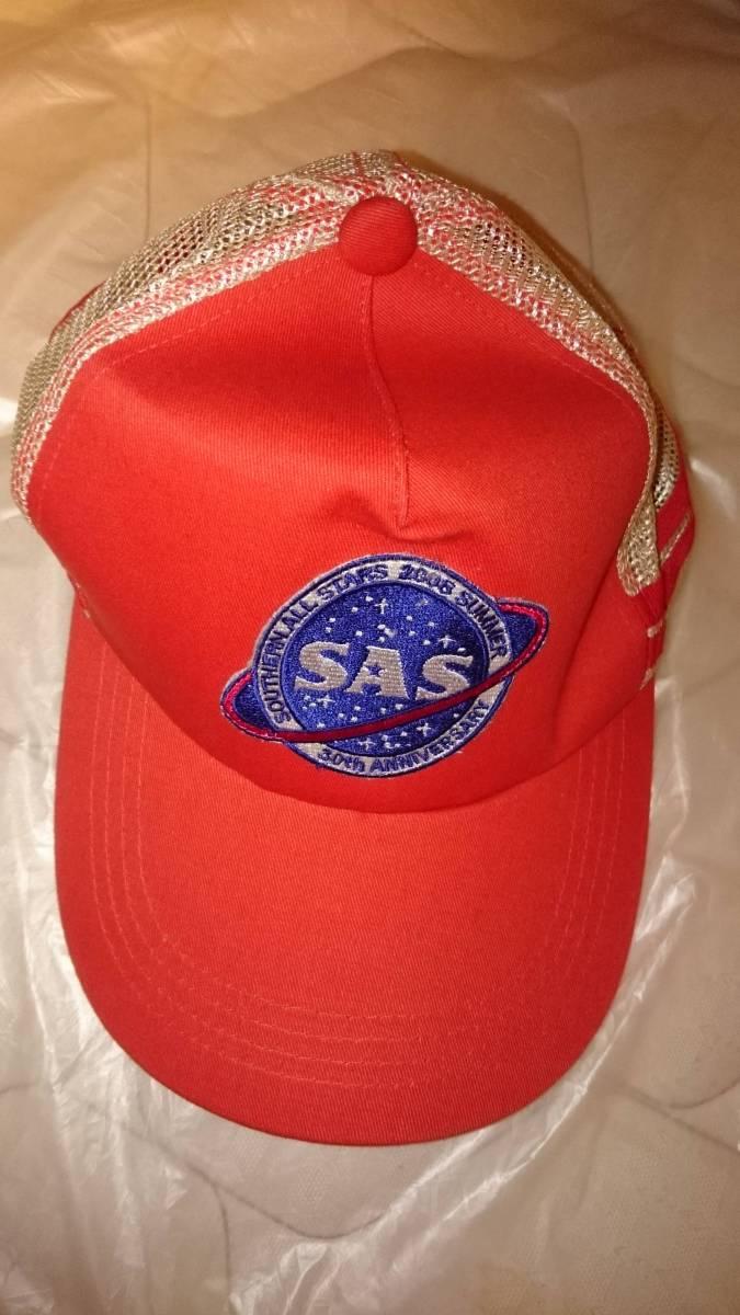 サザンオールスターズ 2008 SUMMER 真夏の大感謝祭 30周年記念 ライブグッズ キャップ 帽子
