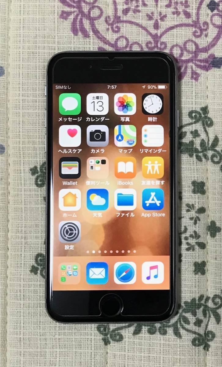 ◇ iPhone6s SIMフリー スペースグレイ 64GB iOS11.2.2 USED 完動品 ◇_画像2