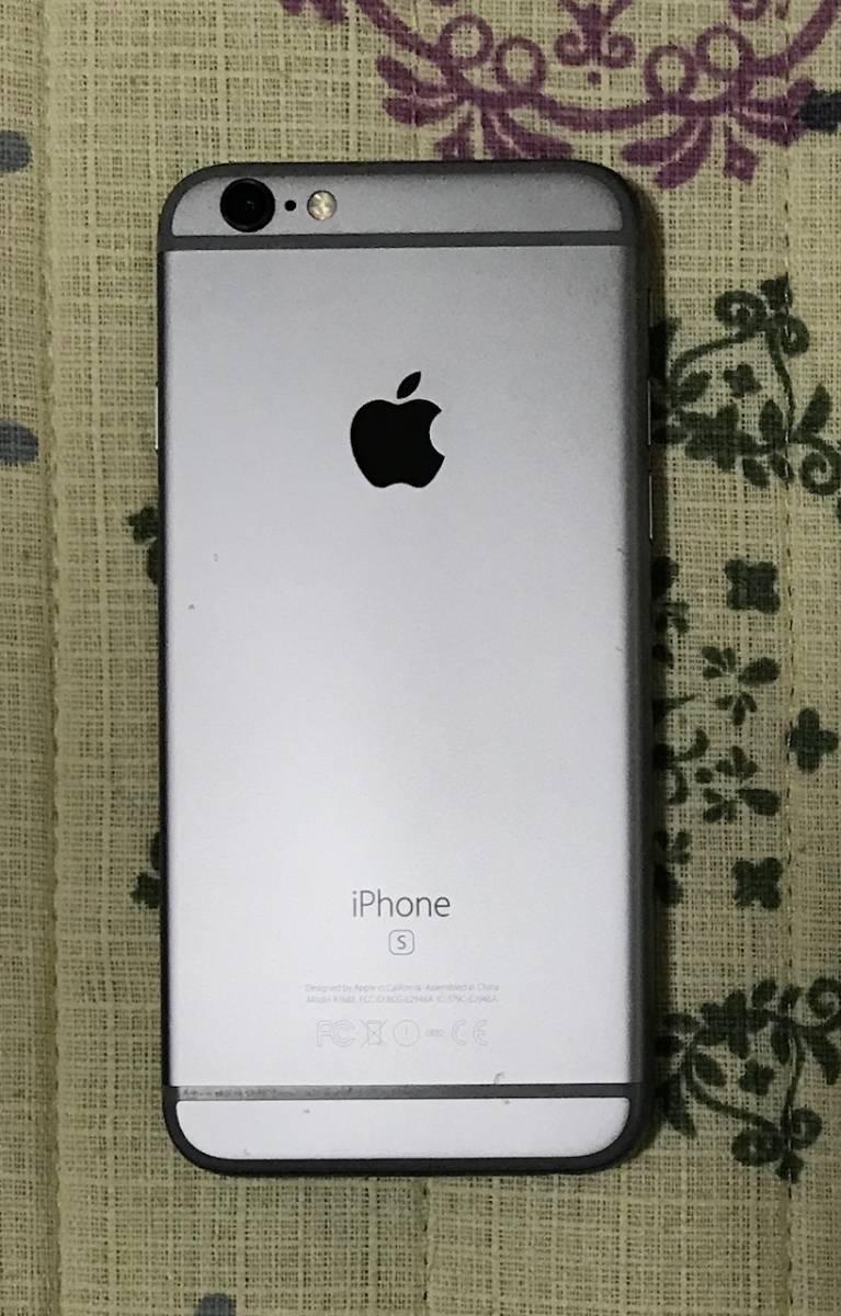 ◇ iPhone6s SIMフリー スペースグレイ 64GB iOS11.2.2 USED 完動品 ◇_画像3