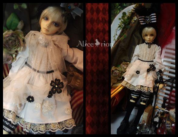 SD13少年vol.49 アリスのお茶会服_画像2