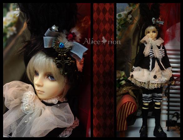 SD13少年vol.49 アリスのお茶会服