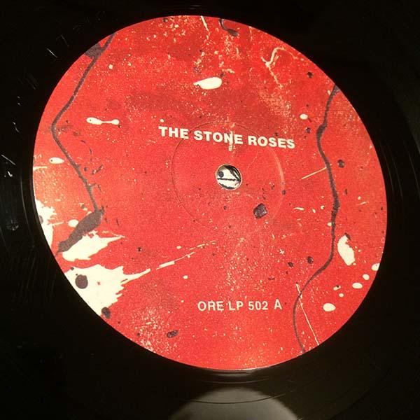 ●STONE ROSES 最初期エンボス加工ジャケ 89年 英国オリジナル ORE-LP-502_画像7