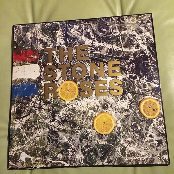 ●STONE ROSES 最初期エンボス加工ジャケ 89年 英国オリジナル ORE-LP-502