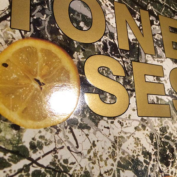 ●STONE ROSES 最初期エンボス加工ジャケ 89年 英国オリジナル ORE-LP-502_画像4