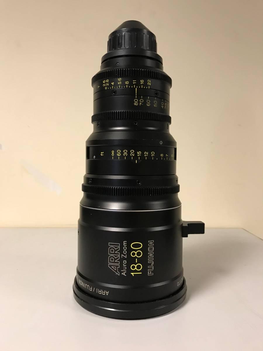 アルーラレンズ 放送業務用Alura 18-80 T2.6 PLマウントカメラに適用
